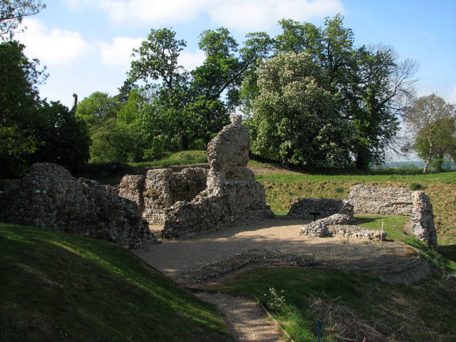 Ruins of the Bishop's Chapel