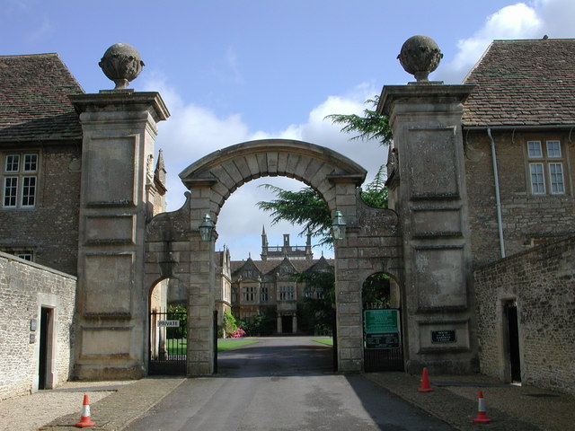 Corsham Court Gate