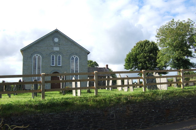 Baptist chapel Pontyglasier