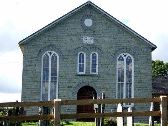 Bethabara chapel