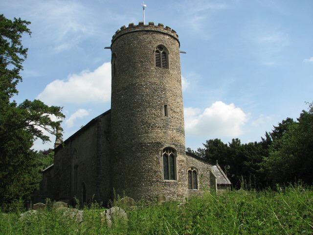 St Peter's church, Yaxham