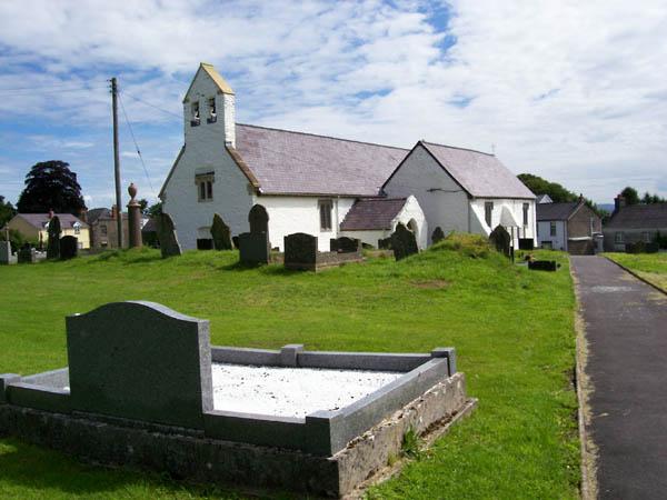 Llansadwrn Churchyard