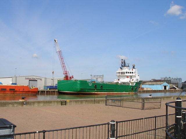 The 'Havla Fame' moored on the river