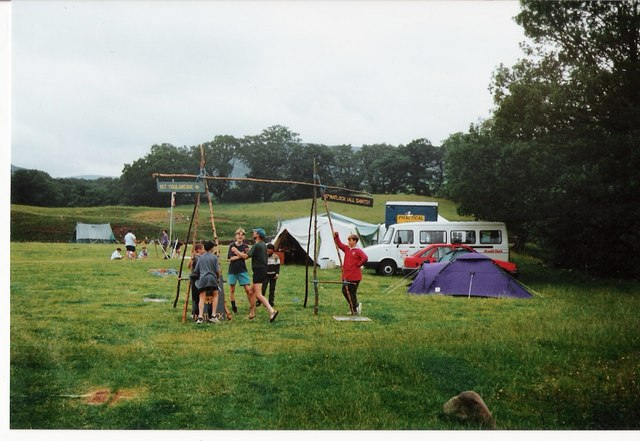 Annual scout camp