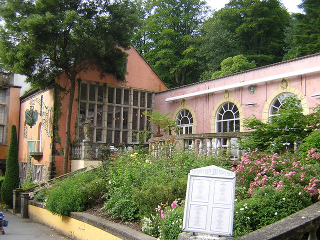Town Hall at Portmeirion