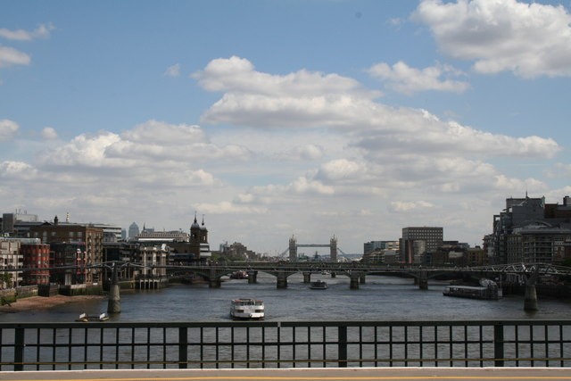 View from Blackfriars Station