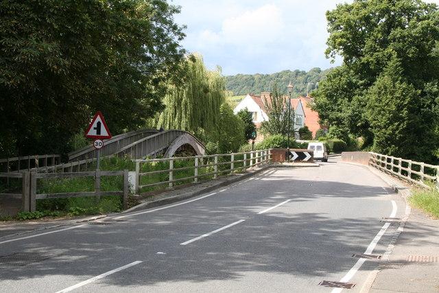 Bridges over the River Mole, Brockham, Surrey
