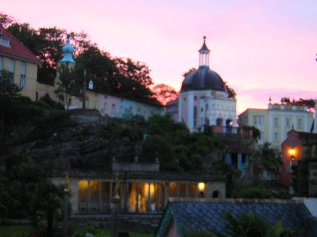 Portmeirion at dawn