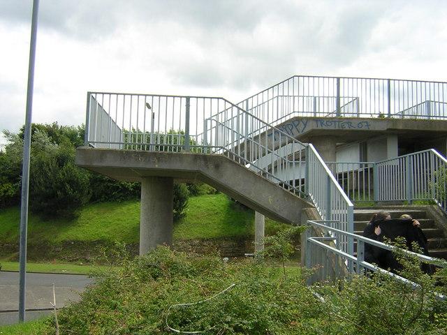 Foot bridge over City Way