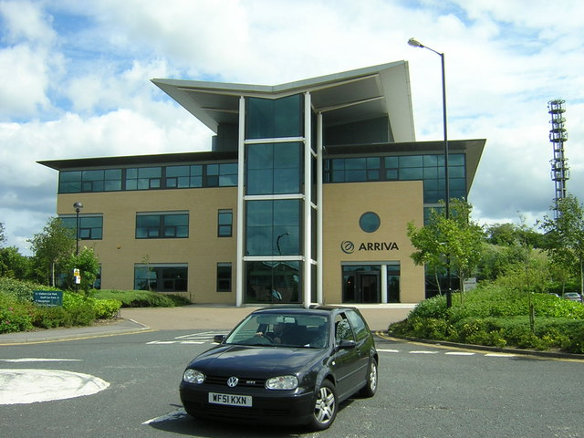 Arriva Building in Business Park