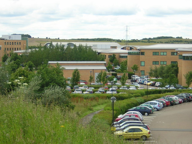 View towards green belt land from Business Park