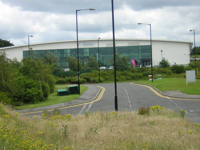 Business Park looking Southwards