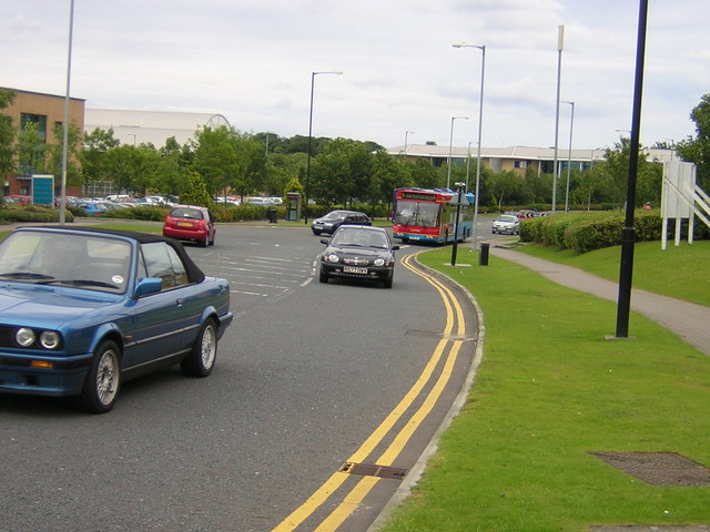 Traffic in Business Park