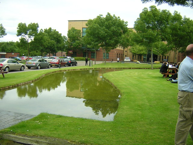 Business Park water feature