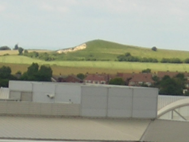 Hastings Hill burial mound from business park