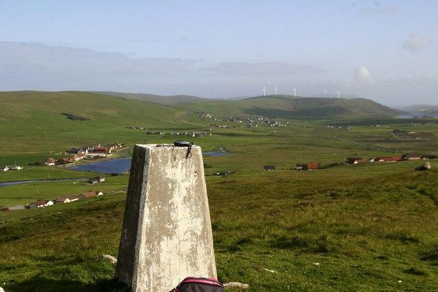 Laxfirth Hill triangulation point