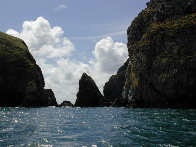 South end of Ramsey Island