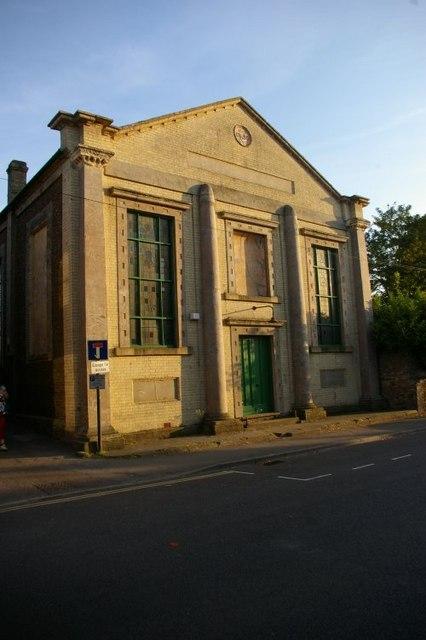 Striking building on Downham Market High Street