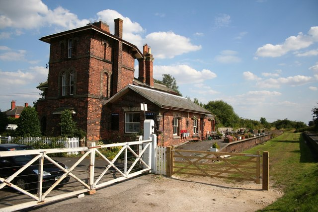 Woodhall Junction Station