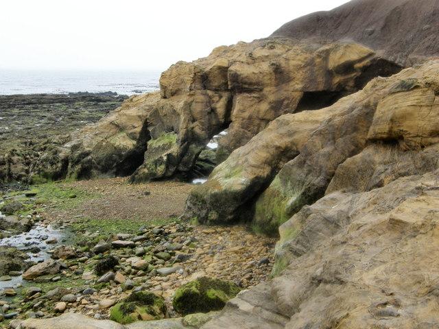 Smuggler's Cave - Cullercoats