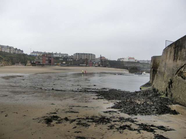 Cullercoats Bay from the beach