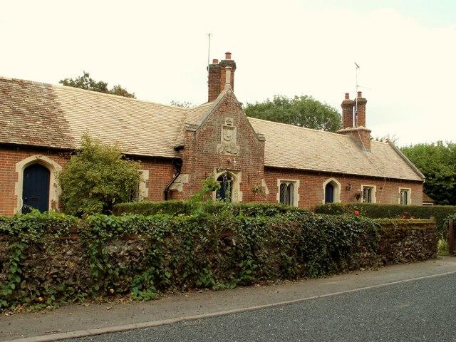 Almshouses at Kirtling