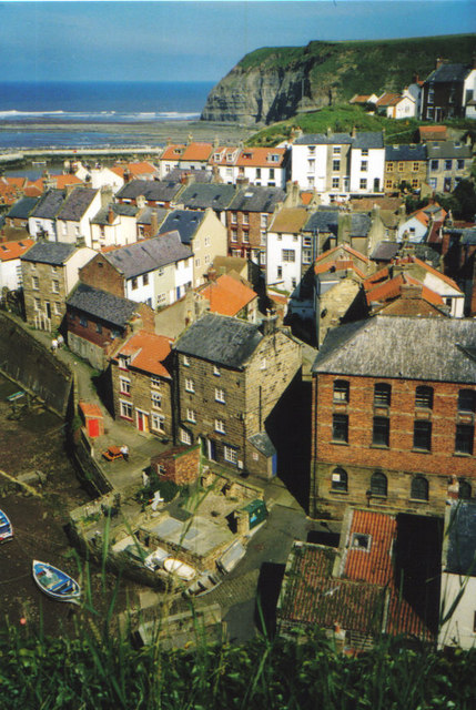 Staithes,North Yorkshire.