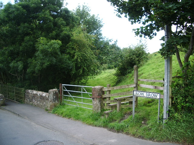 Footpath to Dearham Hall