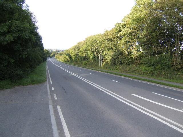 A4076 at Dredgman Hill