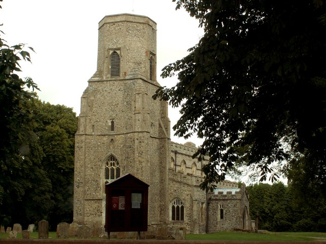 St. Mary's; the parish church of Woodditton