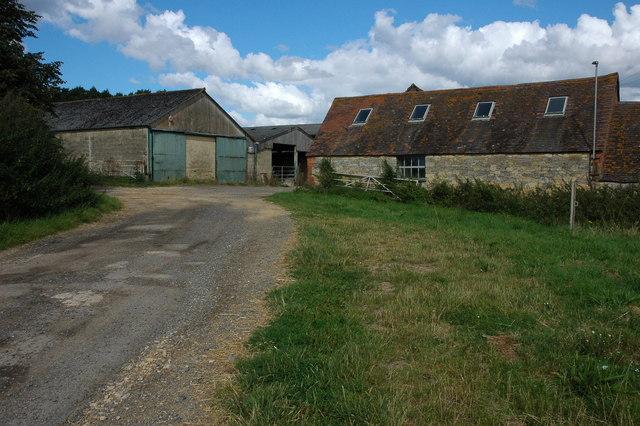 Farm buildings at Court Farm, Beckford
