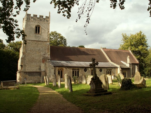 St. Peter's; the parish church of Stetchworth