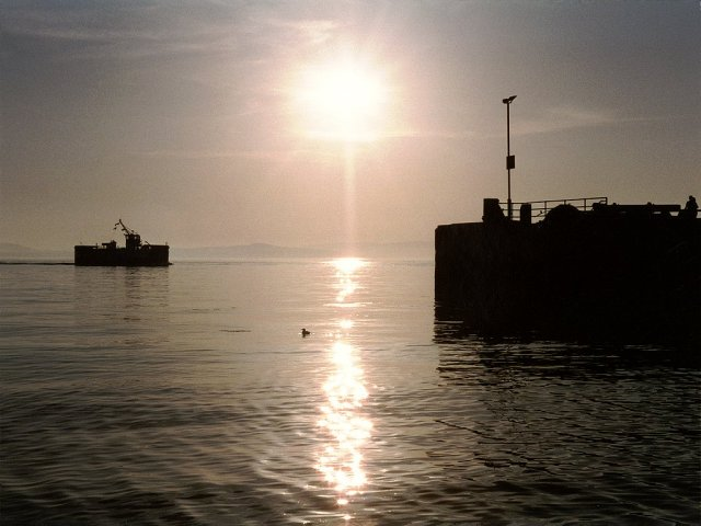 The Cumbrae Ferry, Largs