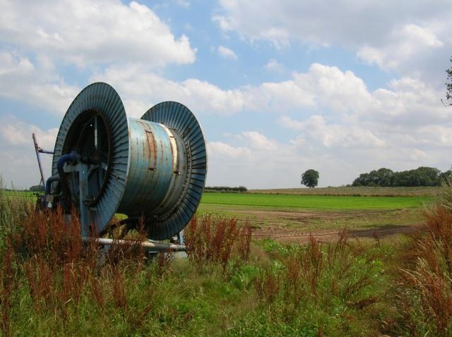 Irrigation system off Rice Lane