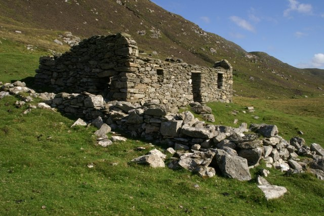 Abandoned croft at Clave, Westing
