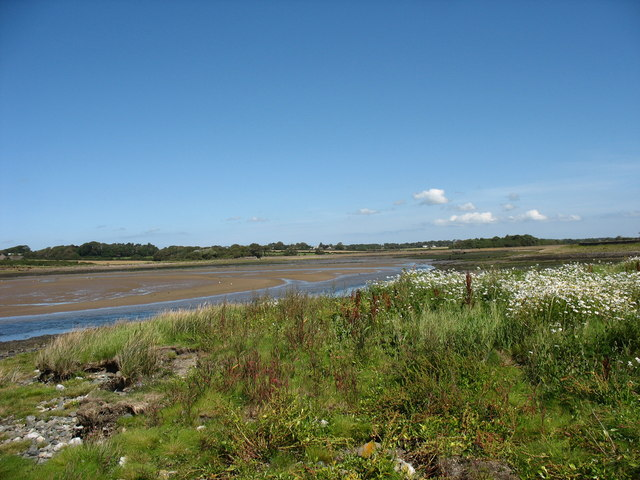 The Braint estuary from Ynys Lwm