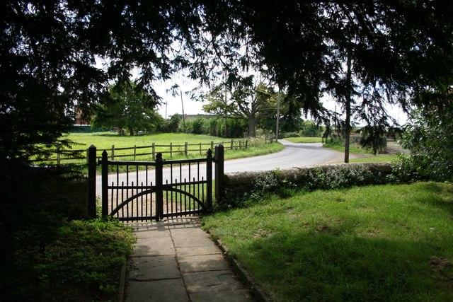Churchyard gates