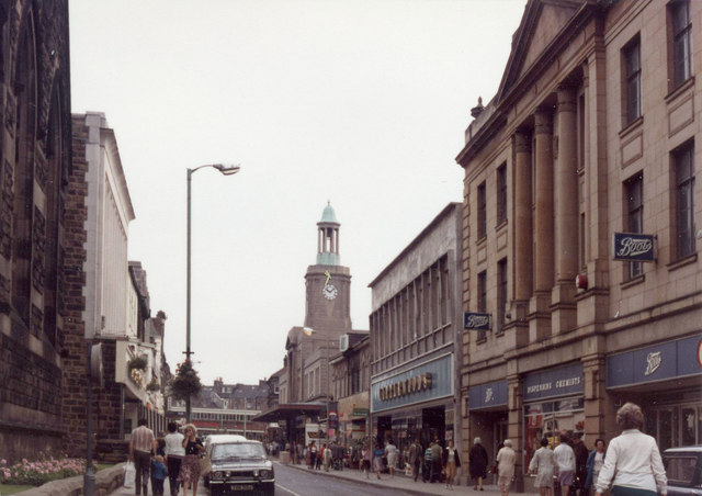 Cambridge Street Harrogate 1981 169 Anthony Eden