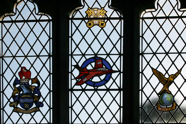RAF Memorial Window, Little Rissington Church