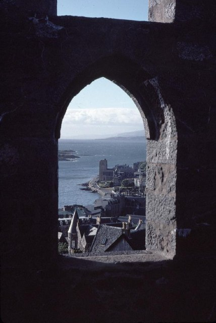 St. Columba's Cathedral Oban,  from folly