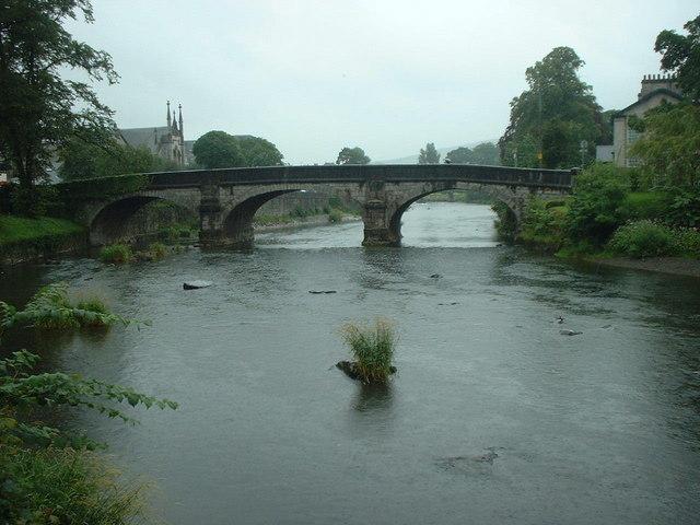 Bridge over River Kent at Kendal