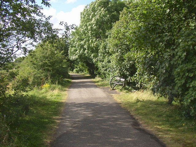 Spen Valley Greenway, Cleckheaton