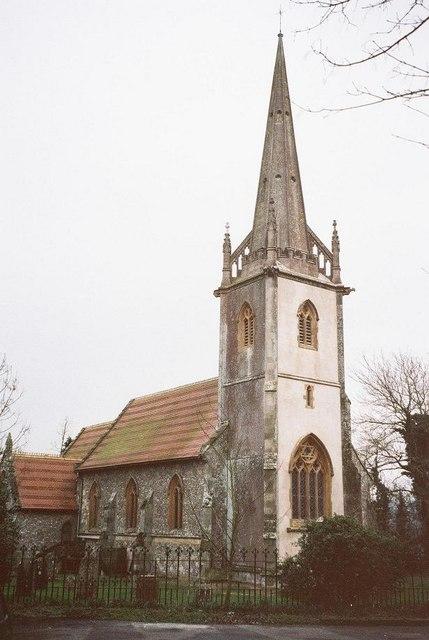 Sutton Waldron: parish church of St. Bartholomew