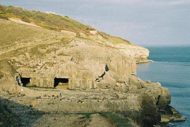 Swanage: Tilly Whim Caves