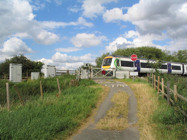 Level crossing west of Frisby on the Wreake
