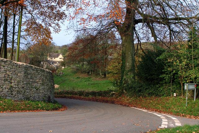 Autumnal Scene, Duntisbourne Abbots