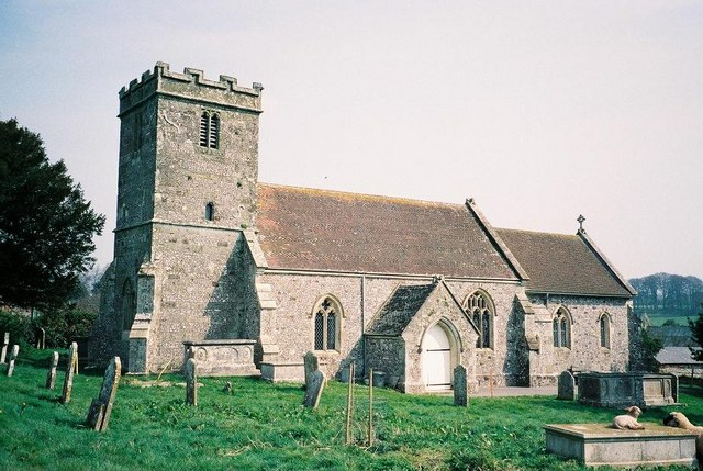 Tarrant Keyneston: parish church of All Saints