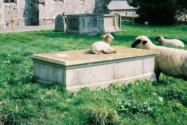 Last resting place = lamb's place of rest