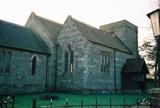 Tarrant Monkton: parish church of All Saints