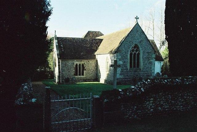 Tarrant Rushton: parish church of St. Mary